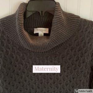 EUC XS Motherhood Maternity Gray Sweater